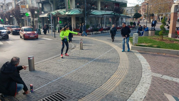 Kαταμετρημένη η διαδρομή του Δημοκρίτειου Ημιμαραθωνίου με την επίσημη μεθοδολογία της Διεθνούς Ομοσπονδίας Μαραθωνίων Δρόμων (AIMS) και της Παγκόσμιας Ομοσπονδίας Κλασικού Αθλητισμού (IAAF).